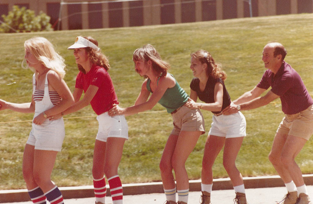 Gary Williams Energy company picnic in the 1970s.
