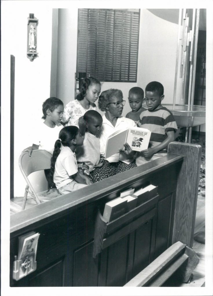 Photo taken from the Reading Program at Church of Holy Redeemer in 1994.